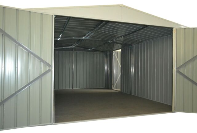 Garden Shed, 3.5m x 5.1m, Steel, Workshop