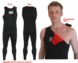 2mm-thermal-lined-Neoprene-039-Long-John-039-wear-UNDER-wetsuit-for-XTRA-WINTER-WARMTH