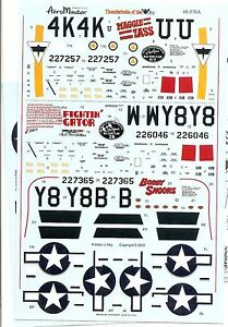 Aeromaster-Decal-48-570-Thunderbolts-of-the-404-Pt-2-P-47D