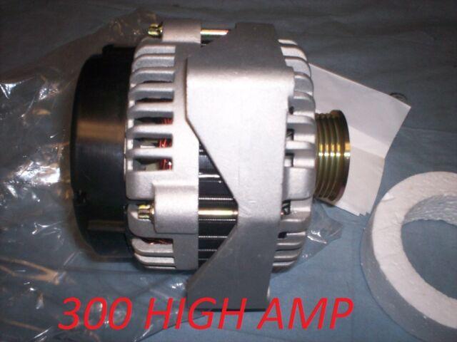 NEW 300 HIGH AMP HD ALTERNATOR 2004-2003 2002 Cadillac Escalade 5.3L 6.0L Ad244