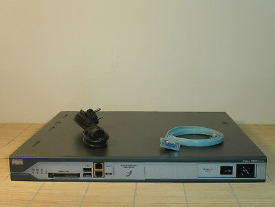 Cisco 2811 Router HWIC PVDM 256/64MB ADV ENTERPRISE IOS
