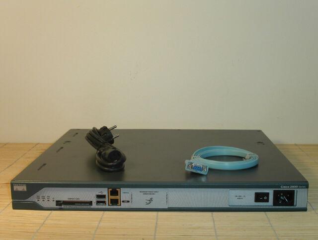Cisco 2811 Router HWIC PVDM 256/64MB ADV ENTERPRISE IOS