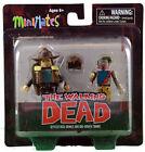 Diamond Select Walking Dead Minimates Series 1: Rick And Roamer Zombie, Action Figure