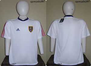 Image is loading Adidas-Real-Salt-Lake-RSL-Soccer-Futbol-Jersey- f5026276a