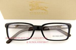 Brand-New-BURBERRY-Eyeglasses-Frames-BE-2086-3001-BLACK-for-Men-100-Authentic