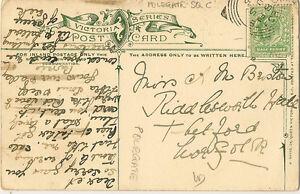 POLEGATE-1905-Squared-Circle-on-P-Postcard