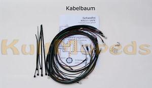 Simson KR51 2 Schwalbe Kabelbaum Kabel Schaltplan VAPE Lichtmaschine E Zündung
