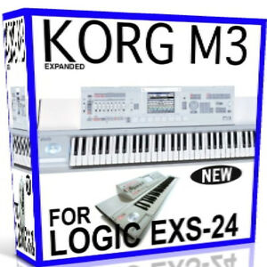 Details about KORG M3 For APPLE LOGIC EXS Patches/Presets/Sounds 61 76 88  Rack 11 DVD'S 38GB