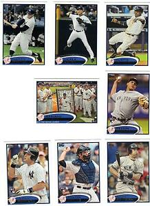 2012-Topps-Ser-1-amp-2-Yankees-Team-Set-Jeter-Mantle-Cano-Teixeira-Alex-Rodriguez-36