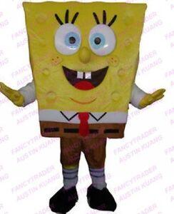 Hot-Spongebob-Mascot-Costume-Spongebob-Squarepants-Mascot-Free-Shipping-FT20015
