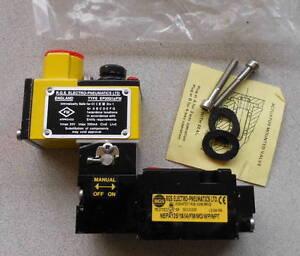 Rgs electro pneumatics solenoid valve