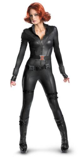 BLACK WIDOW AVENGERS THEATRICAL ELITE ADULT WOMENS COSTUME Heroine Halloween