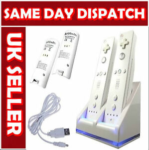 NEW-WHITE-CHARGER-DOCKING-STATION-AND-2X-BATTERY-FOR-WII-REMOTE-CONTROLLER