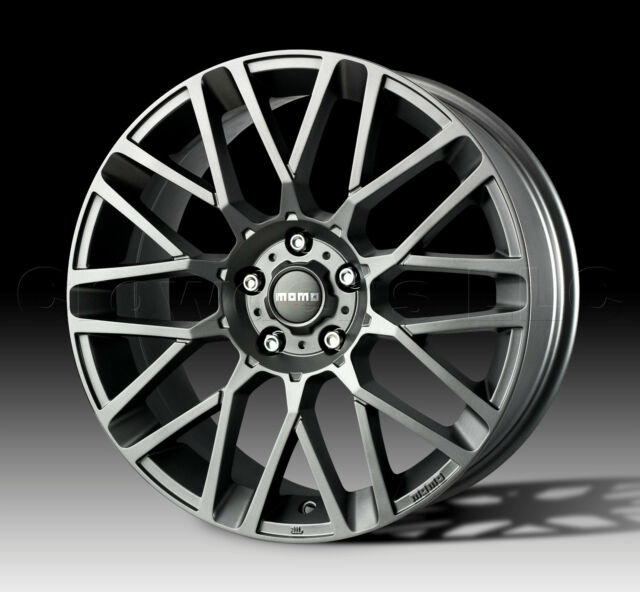 MOMO Car Wheel Rim Revenge Anthracite 17 x 7 inch 5 on 100mm Part # RV70750035AT