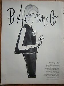 1961-Vintage-B-Altman-Co-Flair-in-Back-Blouse-Womens-Fashion-Ad