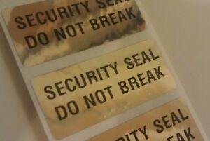 how to break e 6000 seal