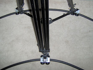Portable-Camera-Dolly-with-36ft-of-Rubber-Flex-Track-crane