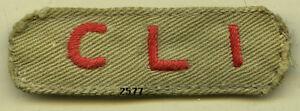 Insigne-commando-Corps-Leger-d-039-Intervention-lettres-rouges