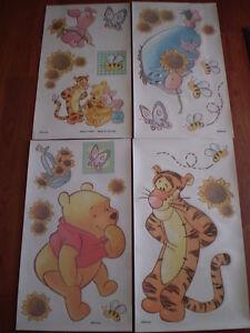 Winnie the pooh classic wall stickers 22 big decals tigger for Classic winnie the pooh wall mural