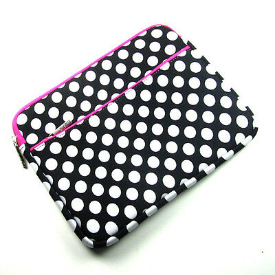 "Polka Dot Sleeve Cover Carry Case Bag for Samsung Galaxy Note GT 10.1"" Tablet"
