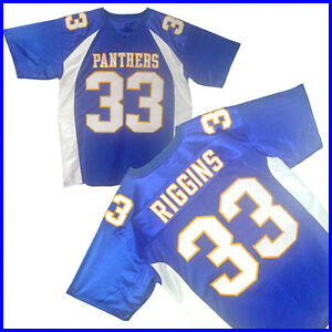FRIDAY NIGHT LIGHTS TIM RIGGINS #33 Season 1 Blue Jersey Pick A Size