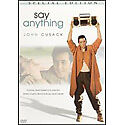 Say Anything (DVD, 2006, Special Edition Sensormatic Valentine Faceplate)
