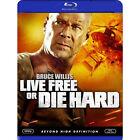 Die Hard 4: Live Free or Die Hard (Blu-ray Disc, 2009)