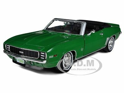 "1969 CHEVROLET CAMARO RS GREEN ""BEWITCHED"" 1/24 DIECAST MODEL GREENLIGHT 18213"