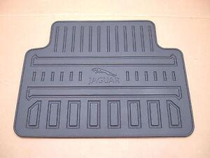 Jaguar XF Factory Rubber Floor Mat Set 2 Rear Mats 2009 ...