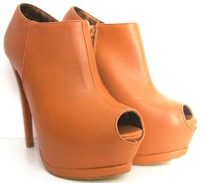 WOMENS LADIES STILETTO PEEP TOE ANKLE HIGH HEEL BOOTS  UK SIZES 3-8