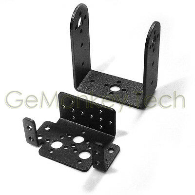 2 DOF Long Pan and Tilt Servos Sensor Mount kit for Robot Arduino MG995 B