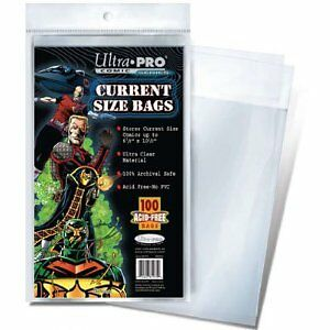 100-Ultra-Pro-Current-Storage-Bags-And-Boards-Brand-New-Factory-Sealed