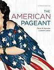 The American Pageant by Lizabeth Cohen, David M. Kennedy (Hardback, 2012)