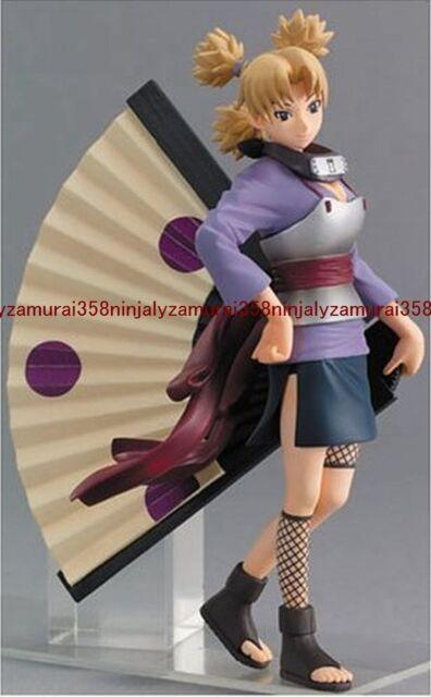Naruto Shippuden Temari PVC Figure official anime Megahouse kunoichi Authentic