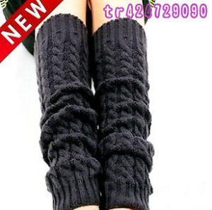 High-Quailty-Winter-Women-Knit-Crochet-Fashion-Leg-Warmers-Legging-5-Colors-K005