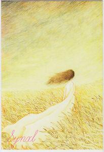 Lot-of-7-Art-Painting-Illustration-Postcards-The-Girls-Dream-Fantasy-World