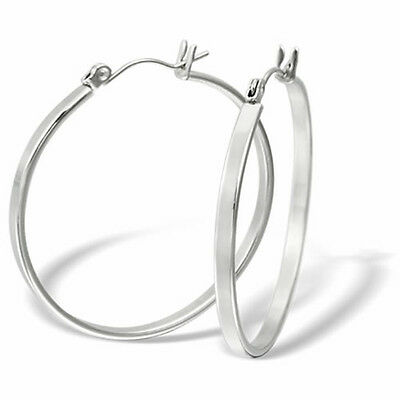 Stainless Steel Hoop Earrings (Sizes from 18 to 70 mm)