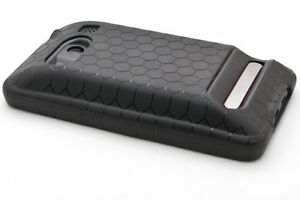 Black-Sprint-HTC-Evo-4G-Extended-Battery-TPU-Thermoplastic-Case