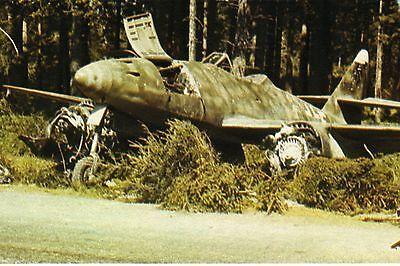 WW2 - Epave de Me 262 allemand en 1945