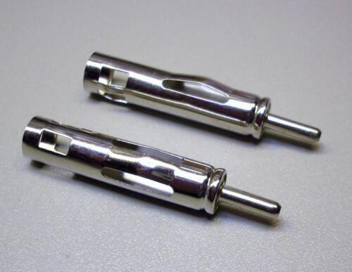 2 unidades auto-antenas conector as-1//vieja norma e3910