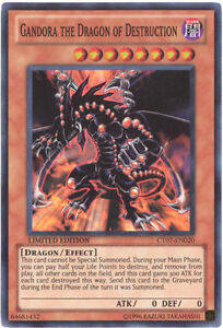 Yugioh CT07-EN020 Gandora the Dragon of Destruction Super ...