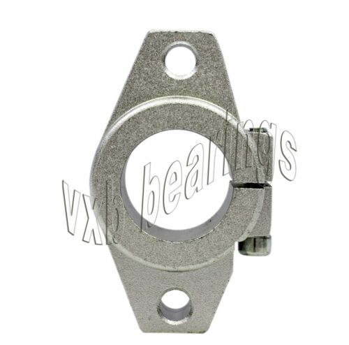 25mm CNC Flanged Shaft Supporter Block Bearings Linear