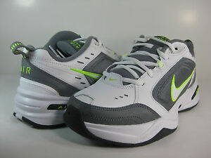 NIKE-MENS-AIR-MONARCH-IV-White-Cool-Grey-Volt-415445-100-ATHLETIC