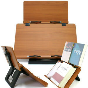 Book-Stand-Portable-Wooden-Reading-Desk-Holder-F