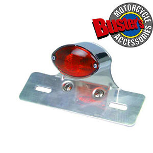 Oval-Single-Complete-Replacement-Motorcycle-Rear-Tail-Light