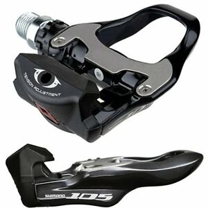 NEW-2012-Shimano-105-SPD-SL-Road-Bike-Pedal-PD-5700-Black-with-SH-11-Cleats