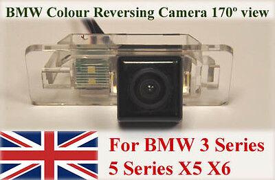Rear View Reversing Parking Camera LED For BMW 3 5 Series X5 X6 E39 E46 E60 E90