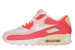 Nike-Wmns-Air-Max-90-Hot-Punch-White-New-2012-Womens-Running-Shoes-325213-605