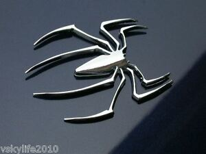 Spider-Car-Emblem-Badge-Decal-Logo-Sticker-Car-Truck-Motorcycle-Bike-Accessories