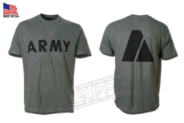 T-SHIRT PT US ARMY GENUINE MILITARY ISSUE MADE IN THE USA